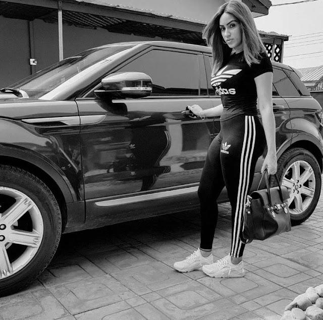 Ghanaian actress Juliet Ibrahim breaks instagram with protruding 'backside'