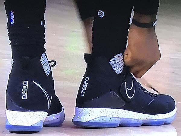 Nike LeBron 14 Black Ice Release Date is January 28th