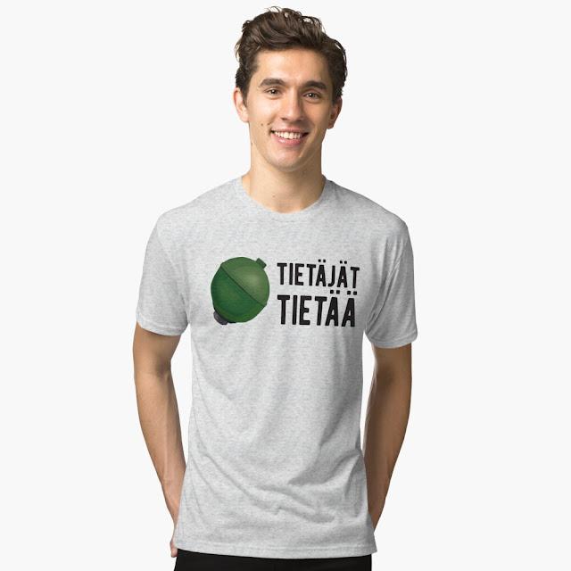 Tietäjät tietää - Citroën - jousipallo - t-paita