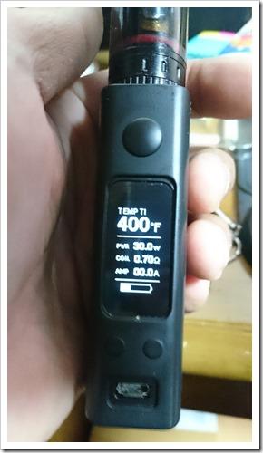 DSC 0836 thumb%25255B2%25255D - 偽TOPTANK(トップフィル)とチタンコイル(VTC Mini)で温度管理を楽しむ