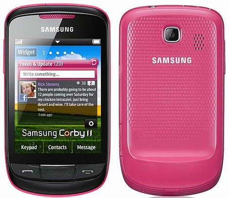 TECHZONE: Samsung Corby II GT-S3850 Smartphone Review, Specifications