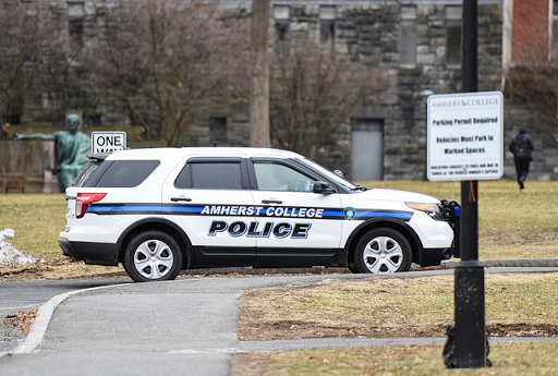 Amherst College to consider removing armed police officers from campus
