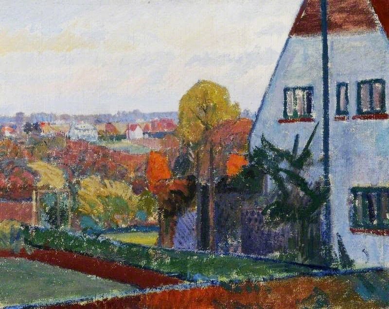 Spencer Gore - Harold Gilman's House at Letchworth, Hertfordshire