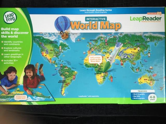 Mama Mummy Mum Leapfrog Interactive World Map Review