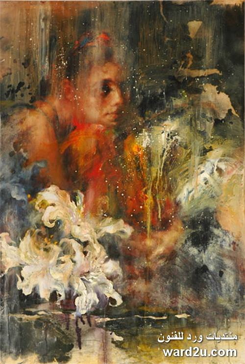 التعبيرية الرمزية فى لوحات الفنان التايوانى James Wu