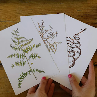 Bracken prints by Alice Draws The Line