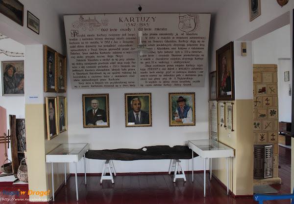 Muzeum Kaszubskie w Kartuzach - ekspozycja o mieście