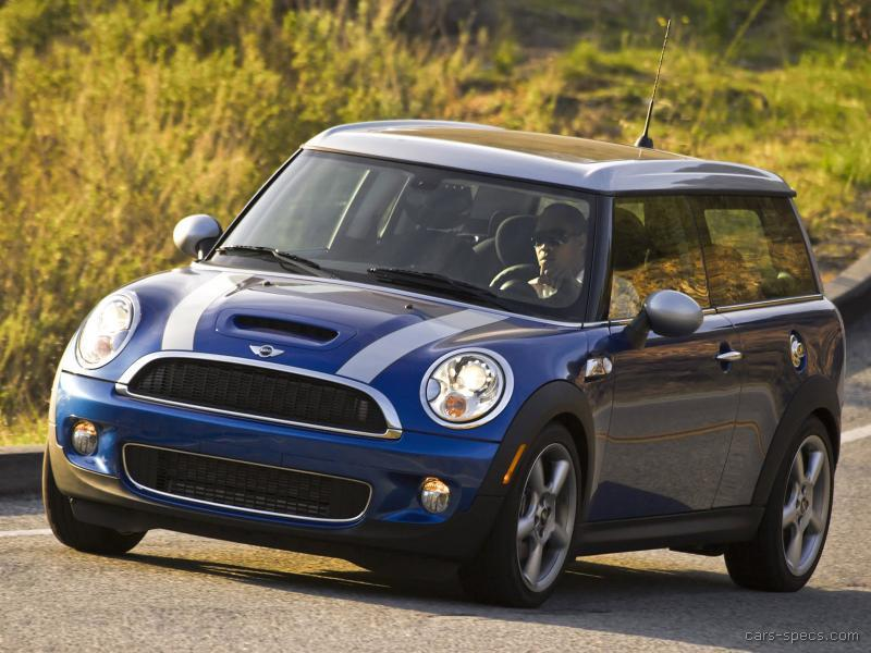 2008 MINI Cooper Clubman Hatchback Specifications