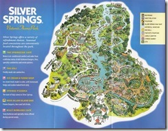 Old Theme Park Map