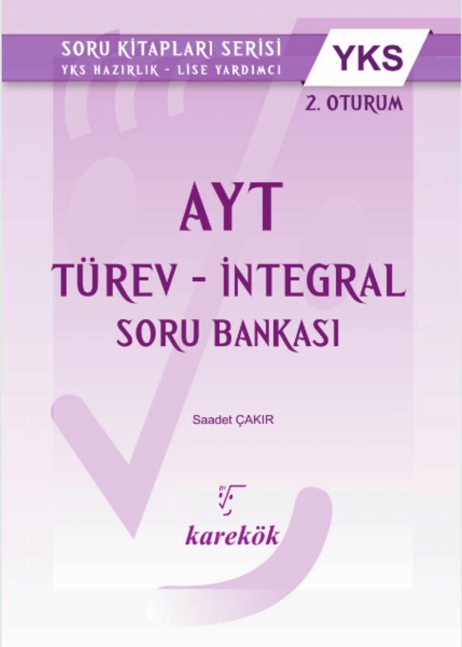 Karekök Yayınları Türev & İntegral Soru Bankası