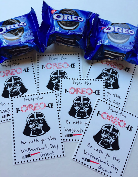 Star Wars Oreo Valentines