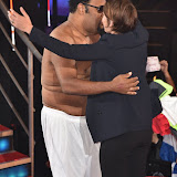 OIC - ENTSIMAGES.COM - Emma Willis and Fatman Scoop DeVille at the  Celebrity Big Brother - Tuesday live eviction in London 15th September 2015 Photo Mobis Photos/OIC 0203 174 1069
