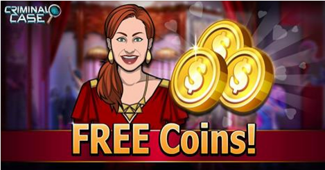 Criminal Case Free Gifts Collect +3000 COINS