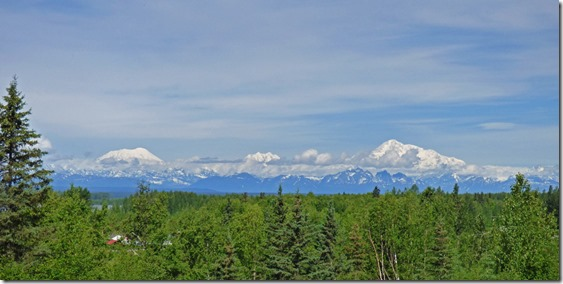 Mt. Denali, from Talkeetna viewpoint