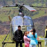 प्रधानमन्त्रीद्वारा बाढी प्रभावित क्षेत्रको निरीक्षण, Photo: Umesh Pun, Pokhara / HKNepal.com