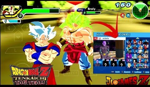 SAIUU!! NOVO DBZ TTT (MOD) + MENU EDITADO PARA ANDROID E PC (PPSSPP) + DOWNLOAD STYLE ANIME