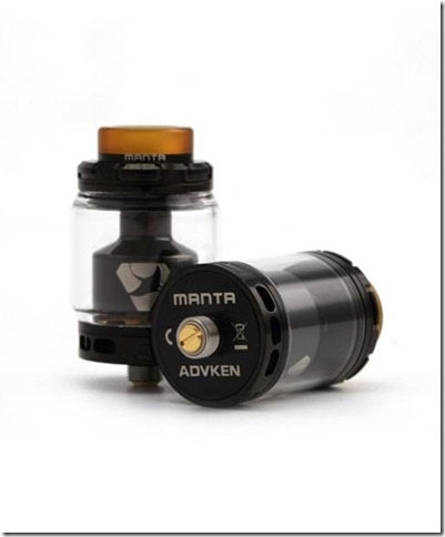 advkenmantarta2 480x580 thumb%255B1%255D - 【RTA】「Advken MANTA RTA(マンタ RTA)」レビュー。タンク形状が特徴的!しかし予備タンクは。。。【VAPE/RTA/アトマイザー】