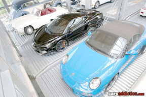 Mercedes SL, McLaren 675 and Porsche 911