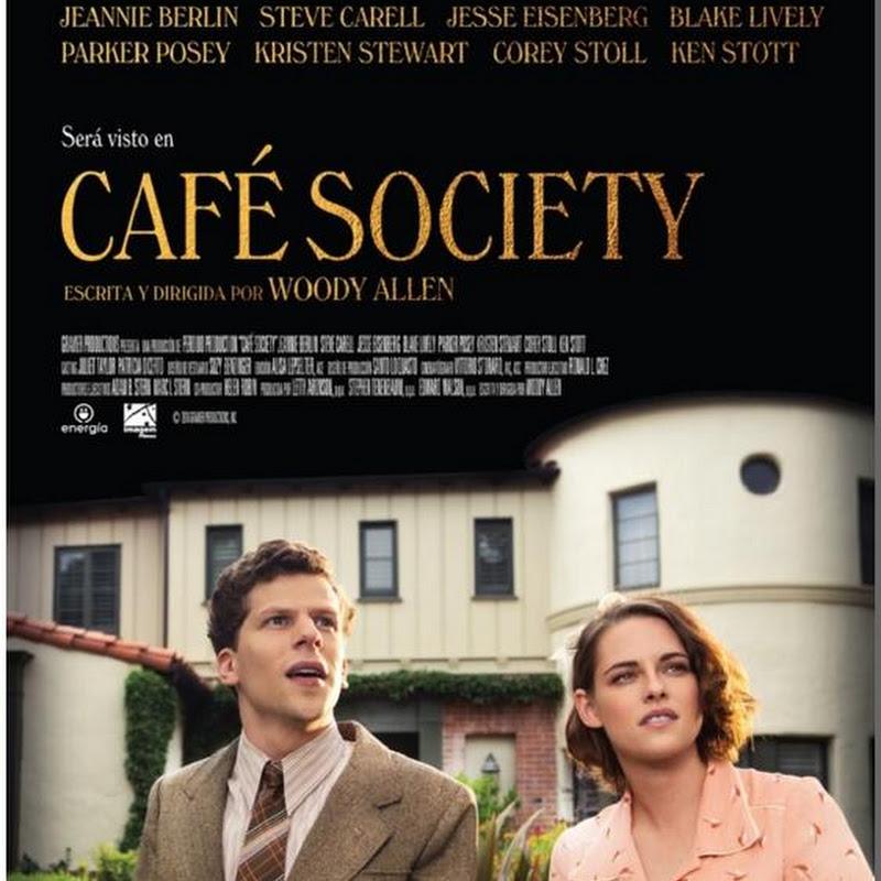 Cafe society fecha de estreno argentina poster latino for Espectaculos argentina 2016