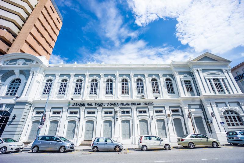 ペナン島 ジョージタウン 省庁の建物