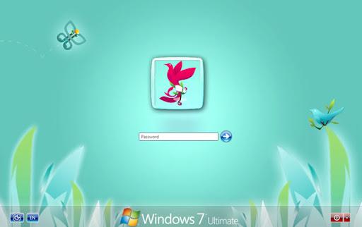 Windows 7 pantalla de inicio Gaia09