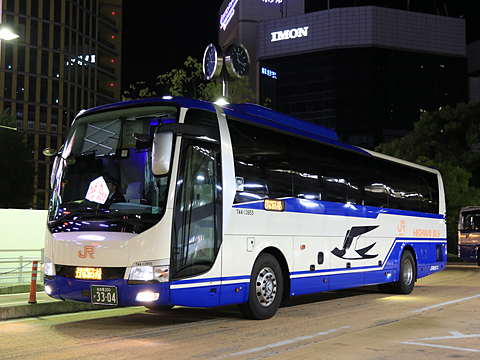 JR東海バス「青春大阪ドリーム名古屋1号」 744-13995