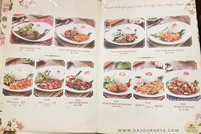 {Food Destination] Radja Ketjil - Citarasa Peranakan
