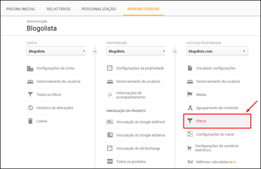 Como eliminar spam do Google Analytics e obter valores reais de audiência - Visual DicasComo eliminar spam do Google Analytics e obter valores reais de audiência - Visual Dicas