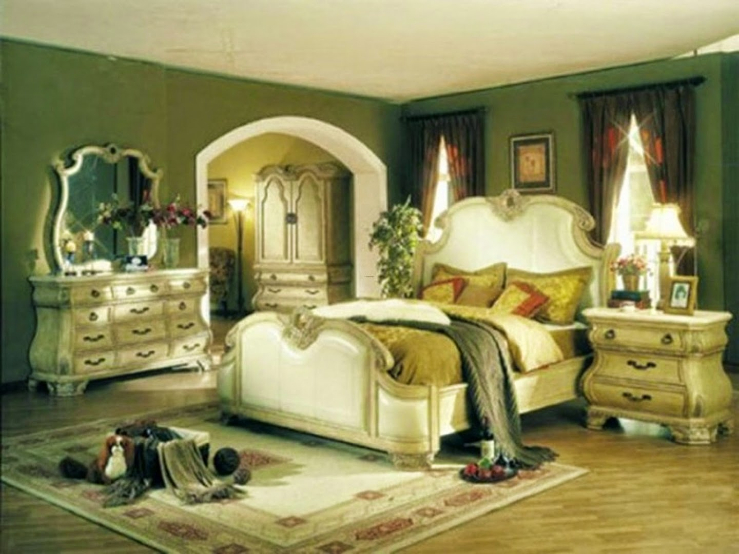 country bedroom pictures