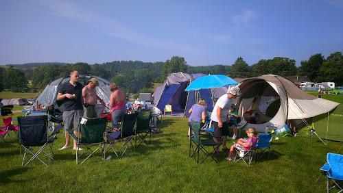 Camping  at Hawkshead Hall Caravan & Camping Site