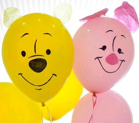 ms y ms manualidades Decora tus globos usando marcadores sharpie