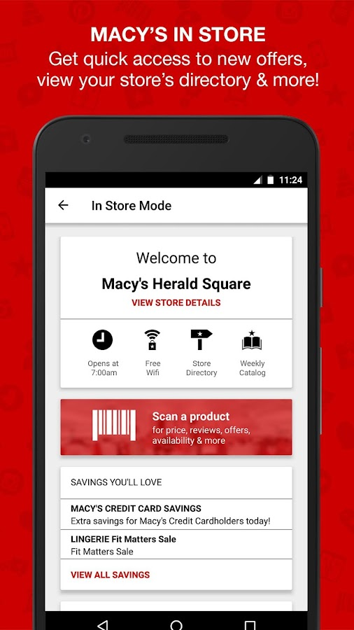 Macy's- screenshot