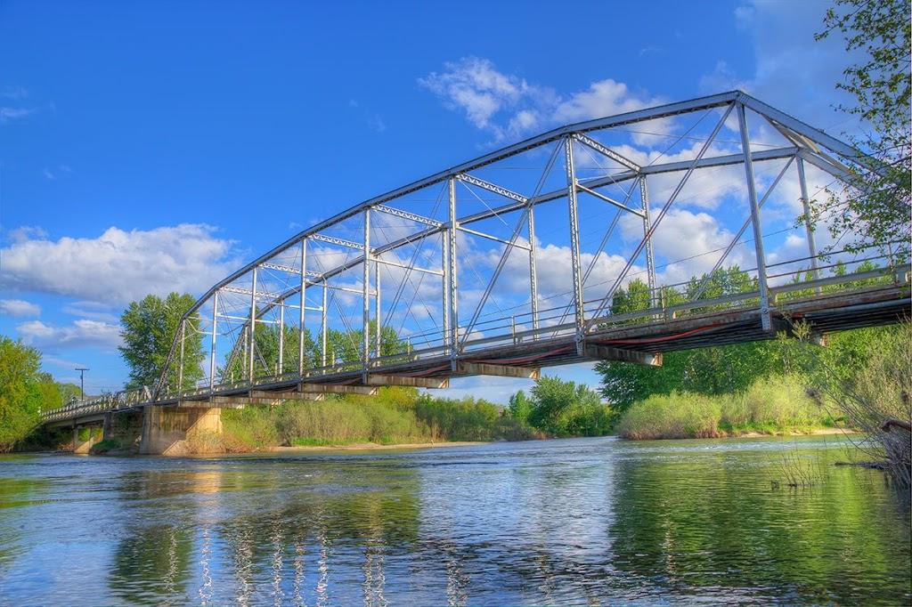 Maclay Bridge Missoula, Montana © Mark Mesenko. Prints available at www.mesenko.com