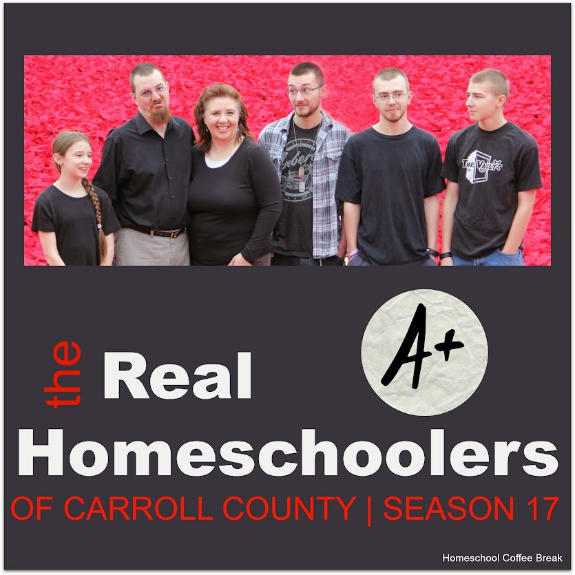 the Real Homeschoolers of Carroll County (Real Life Homeschool at kympossibleblog.blogspot.com)