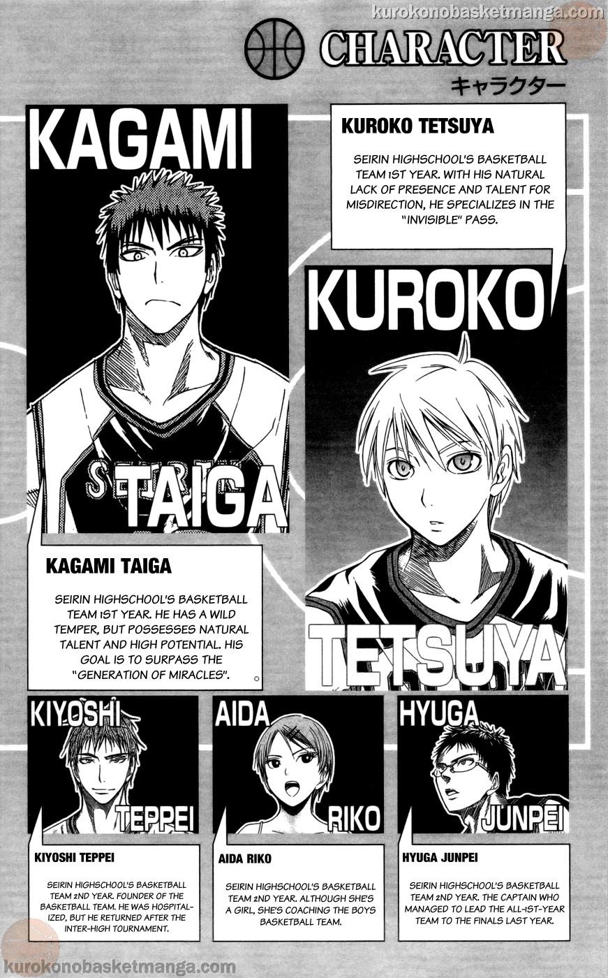 Kuroko no Basket Manga Chapter 100 - Image 02