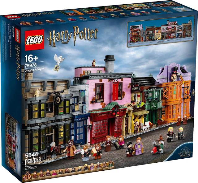 LEGO: Novo conjunto do Beco Diagonal possui mais de 5.500 peças!