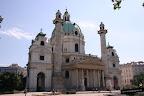 Iglesia la Karlskirche o de San Carlos Borromeo