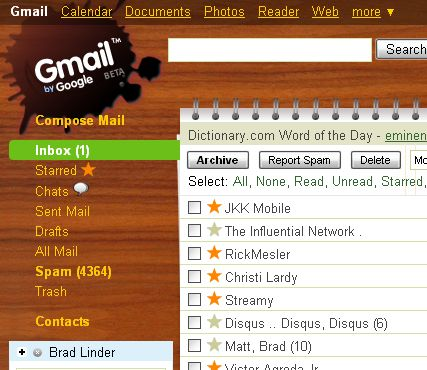 How can I change My Gmail Skins? not themes  - Gmail Help
