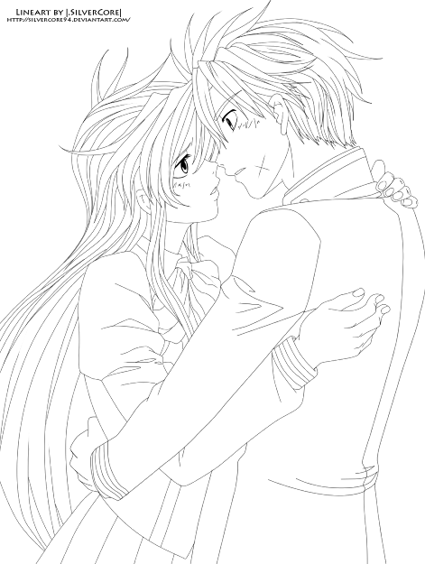 Photos To Anime Couple Coloring Pages With Anime Couples Coloring Pages
