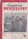 American Miscellany No 44 - 1952