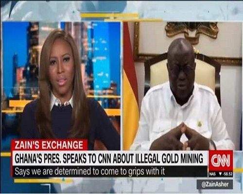 President Akuffo Addo Speaks To CNN On Critical Issues In Ghana