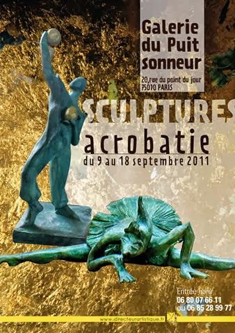 création flyers Sculpture