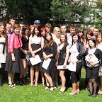 Zakończenie roku szkolnego 2010/2011 klasy I TOR