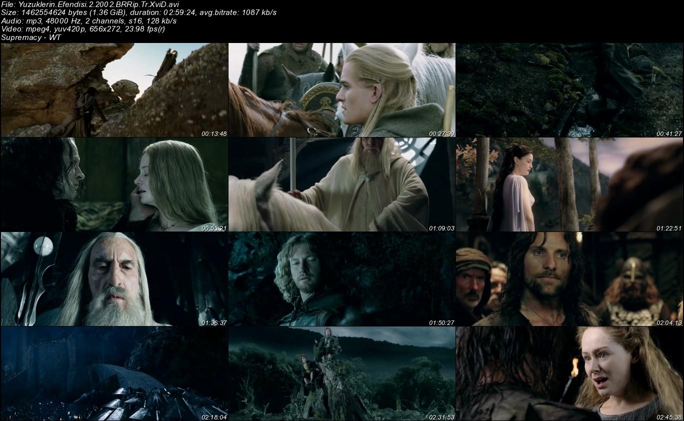 Yüzüklerin Efendisi 2: İki Kule - 2002 Türkçe Dublaj BRRip indir