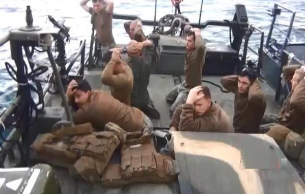 Iranians 'humiliate' Obama and U.S. Navy