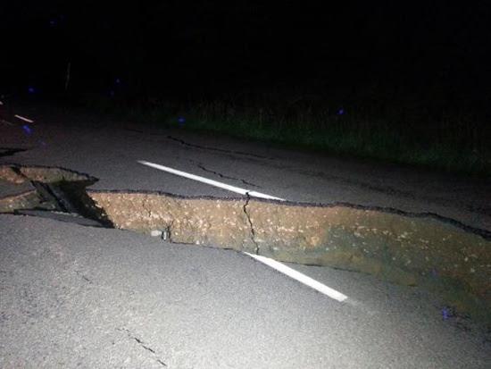 슈퍼문 과 뉴질랜드 지진