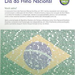 Dia do Hino Nacional - Abril 2016