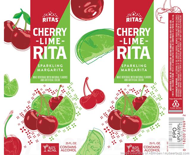 Ritas Cherry Lime Sparkling Margarita