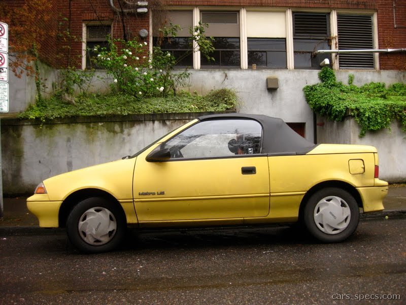 1992 Geo Metro Convertible Specifications Pictures Prices