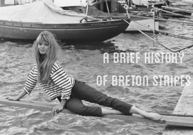 Brief History of Breton Stripes||Brentwood Lane Blog